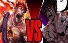 Evil Ryu vs Devil Jin Sprite Fight