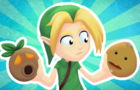 Link Wears Two Masks