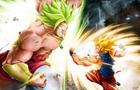 Goku V Broly Remake 2013