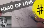ZELDA - Drawing of LINK