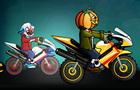 Halloween Bike Racing
