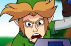 Supah Smesh - Link vs Kirby