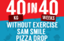 40in40book - Sam Smile Pizza Drop