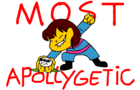 FRISK FORMALLY APOLOGIZES FOR THE NO MERCY RUN