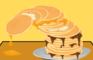 Messy Pancake Tower!
