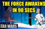 Star Wars: TFA In 90 Seconds!