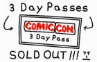 Comic-Con Ticket Rant