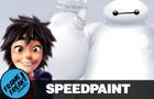 Hiro & Baymax - Speedpaint