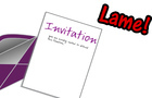 invitation I hate