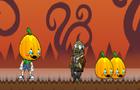 Pumkins In Zombie Town
