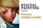 Samus Speed painting Fanart