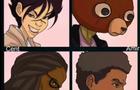 Samurai Shin Comic Book Characters Trailer