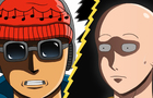 Saitama vs Forte (One Punch Man)