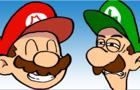 Douchebag Mario: The Dogshit