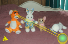 The four rascal plushies: the super powers
