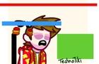 TechnoTiki Glitch Animation