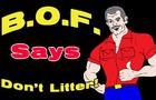 BOF Says Don't Litter - Handshake Fail