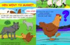 """Children's Book """"Hen Went to Market"""""""