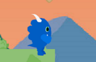 Blue the dino