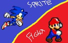 Mario vs Sonic: The Sprite Fight