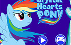 Crystal Hearts My Little Pony