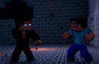 STEVE VS HEROBRINE- MINECRAFT FIGHT ANIMATION