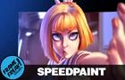 Leeloo Dallas- Fifth Element - Speedpaint