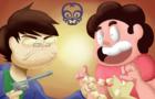 "SleepyCast Animated- ""Steven's Popcorn Necklace"""