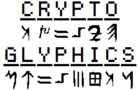 Cryptoglyphics