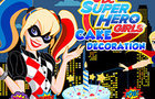 Super Hero Cake Decoration