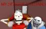 [MMD] MY SPAGHETTI, SANS!
