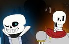 Skeletons and... a human? (Undertale Parody)