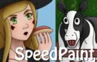 Let's go to eat Choripan Speedpaint 2016