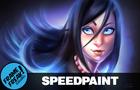 Blue Eyes - Speedpaint Series