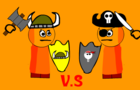 Orange Combat: Viking vs Pirate