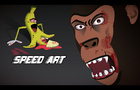Bloody Banana | Speed Art Illustration