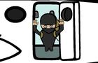 Skydiving Ninja!