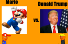 Orange Combat: Mario vs. Donald Trump