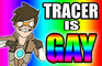 Tracer Is Gay (Overwatch Short Parody)