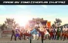 Liu Kang vs Kung Lao: A friendly spar