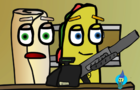 Taco has a shotgun - Food With Thoughts short