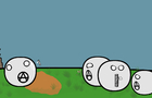 Anti meme people, countryball animation