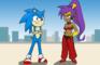 Shantae Meets Sonic