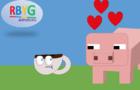 Tea Cup - Pig Love (Minecraft Animation)