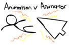 Animation vs Animator (Alan Beker Inspiration)