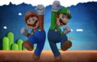 Mario and Luigi - Sandbag.