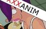 Leela suck Nibbler (Futurama)