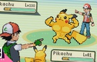 Red vs Ash Pokemon battle
