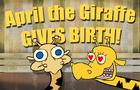 April the giraffe: GIVES BIRTH!