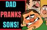 Dad Pranks Sons | Abo and Karo Cartoon